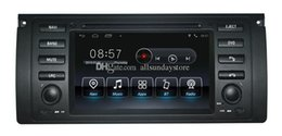 Wholesale Android Car DVD Player for BMW E39 Series X5 E53 M5 with GPS Navigation Radio Bluetooth USB AUX Video Stereo