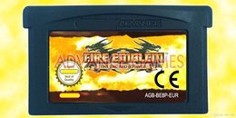 Wholesale GBA Games Mix Order Fire Emblem The Sacred Stones