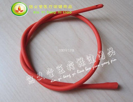 Disposable red rubber Urethra Catheter 25   bag