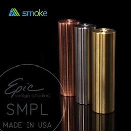 SMPL Clone Mod High Quality Clone SMPL Mod Fast delivery hottest selling product 18650 SS Copper Smpl Mod wholesale