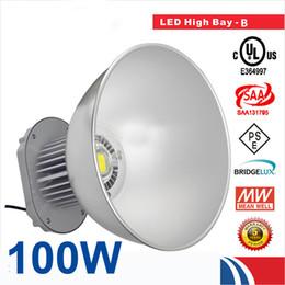 100W LED High Bay Light 85-265V Industrial LED Lamp 45 Degree LED Lights High Bay Lighting 10000LM for Factory Workshop CE ROHS Approval