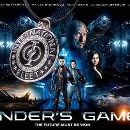 Wholesale 2016 New Arrival US Film Jewelry Vintage Ender s Game Pendant Necklaces International Fleet For Men and Women ZJ