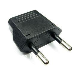 Wholesale JHD Travel Adaptor Plug Converter in Black CE Marked Italy European plug transfer European conversion plug