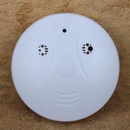 Smoke Detector Model Hidden Digital Surveillance Camera Video Recorder Covert Remote Control USB DVR White CB13