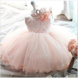 2017 sans manches en tulle filles habillées Robe de mariée Robe de mariée Robe de mariée Robe de mariée sans manches en tulle filles habillées à vendre