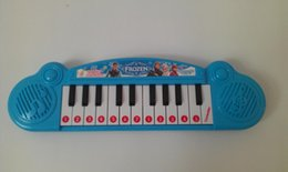 Wholesale Musical instruments toy for kids Frozen girl Cartoon electronic organ toy keyboard electronic baby piano with music song TF3c