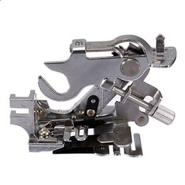 Wholesale Excellent Quality Generic Sewing Machine Ruffler Presser Foot for Brother Babylock White Low Shank Hot Sale