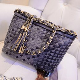 Wholesale-Handbag Hobos Handbags High Quality Wholesale 2015 New Factory Direct Foreign Trade A Contract Package Mail Weaving Packages