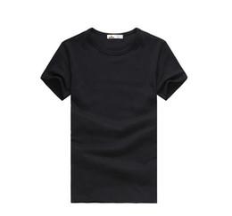 2018 Free Shipping brand clothing new Slim dark green red orange blue gray black white T shirts Slim Fit Short Sleeve T-shirt S-XXXL