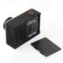 Camera Lens Cap + Battery Door Replacement + Side Door Cover For GoPro HD Hero 3