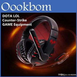 Équipements d'emballage à vendre-Esport Équipement Somic G923 WCG Professional Gaming Casque Computer Voice casque avec microphone Retail Package DOTA 2 LOL CS PC Gaming