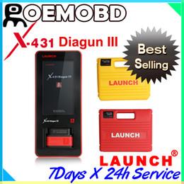 Wholesale Newest Genuine Launch X431 Diagun III diagun auto diagnotic Scanner Multi language years warranty diagunIII diagun3 GIFT X431 IDiag