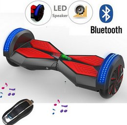 Wholesale EU Base Stock and Repair Service Bluetooth Self Balancing Scooter Hoverboard inch wheels Scooter