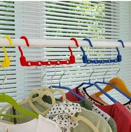 Wholesale New Useful Hole Space Saver Wonder Magic Hanger Hook Closet Organizer