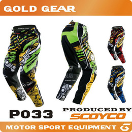 2016 Scoyco P033 pantalon moto Motocross Pants Motorbike ATV Off Road Trousers BMX Motorcycle Racing MX dirt bike downhill-bike
