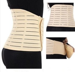 Wholesale Body Sculpting Slimming After childbirth Postnatal Postpartum Women Belly Recovery Belt Invisible Tummy Wrap Corset Post Pregnancy Girdle