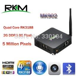Rikomagic RKM MK902 Quad Core Android 4.4 RK3188 2G DDR3 8G ROM Bluetooth Build in Camera & Microphone XBMC preload [MK902 8G]