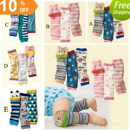 Wholesale Cartoon Knee High Baby Leg Warmer Striped Leg Warmers for Kids Cover Socks Baby Air Conditioning Socks BY0000