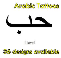 10pcs Arabic Tattoo, High Quality Waterproof Tattoo, Temporary Arab Tattoo. FREE SHIPPING By Registered China Post Air Mail