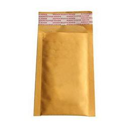 Kraft enveloppe jaune en Ligne-Qulity élevé enveloppes matelassées Mailers Expédition Sacs jaunes Universal 10X 90 * 130 40mm Kraft Pour Bubble Bag