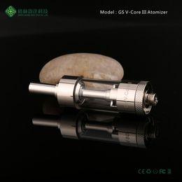 510 atomizers tank 3ml rebuildable Ecig atomizer vapor Dual Coil V-core III atomizers e cigarette atomizer
