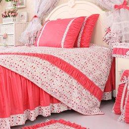 Wholesale Manufacturer Brand Bedding Set King Size Bedskirt Set Home Textile Bedclothes Bed Linen Duvet Quilt Cover Set Bedspread Kids