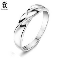 Wholesale-Popular Female & Male Finger Ring,925 Sterling Silver Material,3 Layer Platinum Plated,Lead & Nickel Free OR08