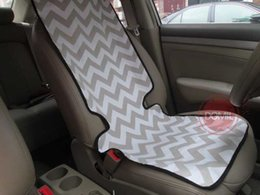 Wholesale Mongrammable Chevron Car Seat Cover Seat Protector CHE1070125