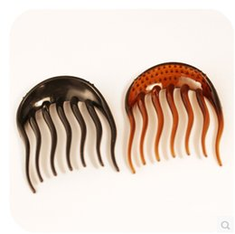Wholesale BUMP IT UP Volume Inserts Hair Clip for Ponytail Bouffant Styles Hair Styling Comb KH0007