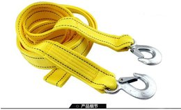 Wholesale High Quality Tons M Car towing trailer strap Travel Thickening Heavy Duty Emergency Pulling Off Road Rope