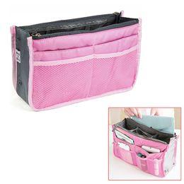 Wholesale Pink Womens Handbag Purse Travel Organiser Large Bag Liner Ladies Present UK