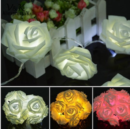 Festival 2016 Christmas lights rose Light Net string 20 LED Christmas light decoration