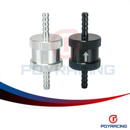 Wholesale PQY STORE quot mm Non Return One Way Fuel Check Valve Aluminium Alloy Petrol Diesel PQY FCV04