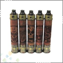 Top Selling Wood Shape X Fire Wood Best Twist Battery Variable 650mah 900mah 1100mah X-Fire Battery Adjustable Voltage 3.3V~4.8V