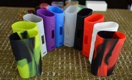 Wholesale Funda de silicona Subox Mini silicio Bolsa colorido de goma cubierta protectora de la manga de gel de sílice de la piel para subox Kang Mini w Box Mod libre de DHL