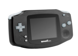 Wholesale The best Children s gift Highlighting gba console build in in1 games include gift carts real gba game Contains lithium battery black