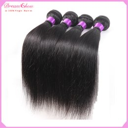 Wholesale straight weave Best Selling Top A Indian Virgin Hair Weave Indian Straight inch Natural black Unprocessed Indian Hair