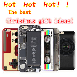 Wholesale 2015 Hot Christmas Gift Iphone s Apple6s Plus s Protective Shell TPU Soft Phone Case Recorder Shoes Printing Dhl