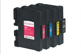Wholesale GC41 compatible sublimation ink cartridge For Ricoh SG3110DN Aficio SG DN GelS printerrs