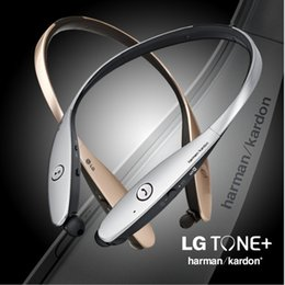 Wholesale Bluetooth Headset HBS900 HBS HBS Headphones In Ear Noise Cancelling LG L G Tone Infinim with CSR8645 chip lg neckband Earphones