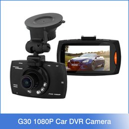 Wholesale 2016 Best Selling G30 quot Degree Wide Angle Full HD P Car DVR Camera Recorder Motion Detection Night Vision G Sensor