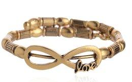 Wholesale New alex and ani Charm Bracelets Fashion retro punk style woman geometric DIY LOVE gold alloy rims bracelet pendant mm adjustable