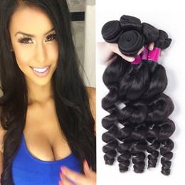 7A année Mink brésilienne Virgin Hair 4 Bundles vrac Vague 100% Non Transformé Cheveux Weave brésilienne péruvienne indienne en vrac Vague Virgin Hair à partir de grade 7a vierges faisceaux de cheveux bresilien fabricateur
