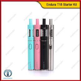 Wholesale Innokin Endura T18 Starter Kit mah Battery With ml Glass SS Tank Prism Atomizer VS Kanger Subvod eGo One Kit