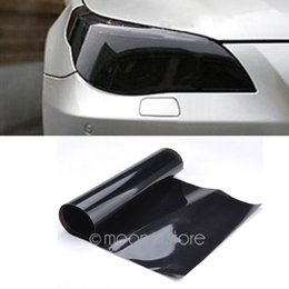 Wholesale Auto Car Smoke Fog Light Headlight Taillight Tint Vinyl Film Sheet Sticker PVC Waterproof Smooth Self adhesive MHM750