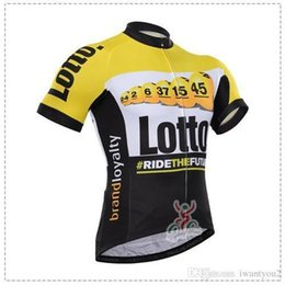 Wholesale Lotto Cycling Jerseys Short Sleeve Brand Loyalty Bianchi Bicycle Wear Bike Jerseys Bib None Bib Pants Outdoor Equipments