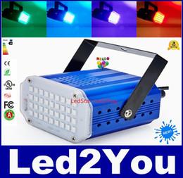 Discothèque clignotant conduit en Ligne-36LEDs RGB / blanc conduit scène lumières Club Stage lumière d'effet DJ discothèque lumière stroboscopique Light EU / AU / US / UK Plug