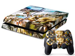 Wholesale Final Fantasy XIV DECAL SKIN PROTECTIVE STICKER for SONY PS4 CONSOLE CONTROLL