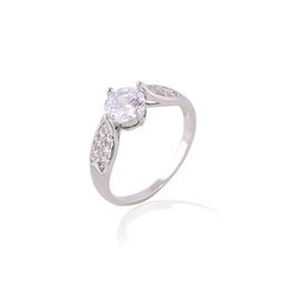 Wholesale Valentine s Day Finger Cubic Zirconia Pave Semi Mount Engagement Rings For Women