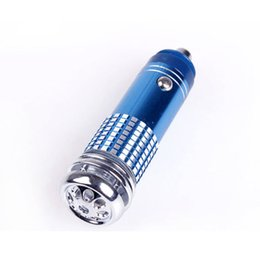 Wholesale Car Purifier New car s oxygen bar V Mini Auto Car Fresh Air Ionic Purifier Ozone Ionizer Cleaner High Quality